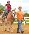 Student therapeutic riding