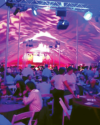 Chefs Unbridled Tent