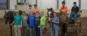 Fieldstone Farm volunteers