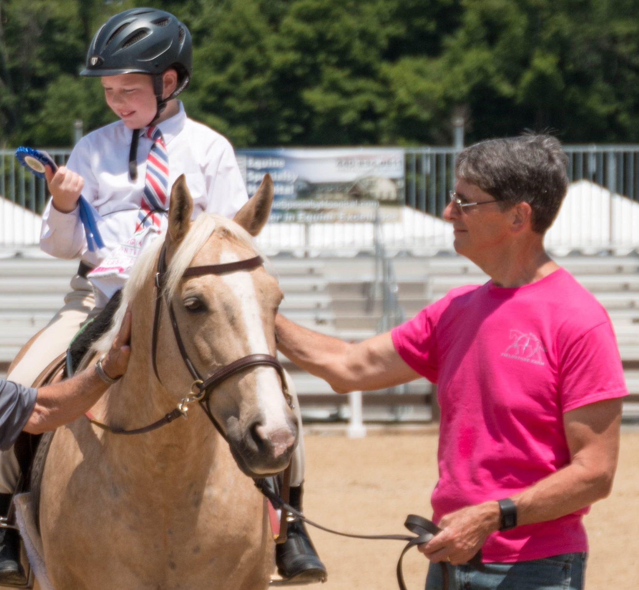 Scott -- horse show 2016