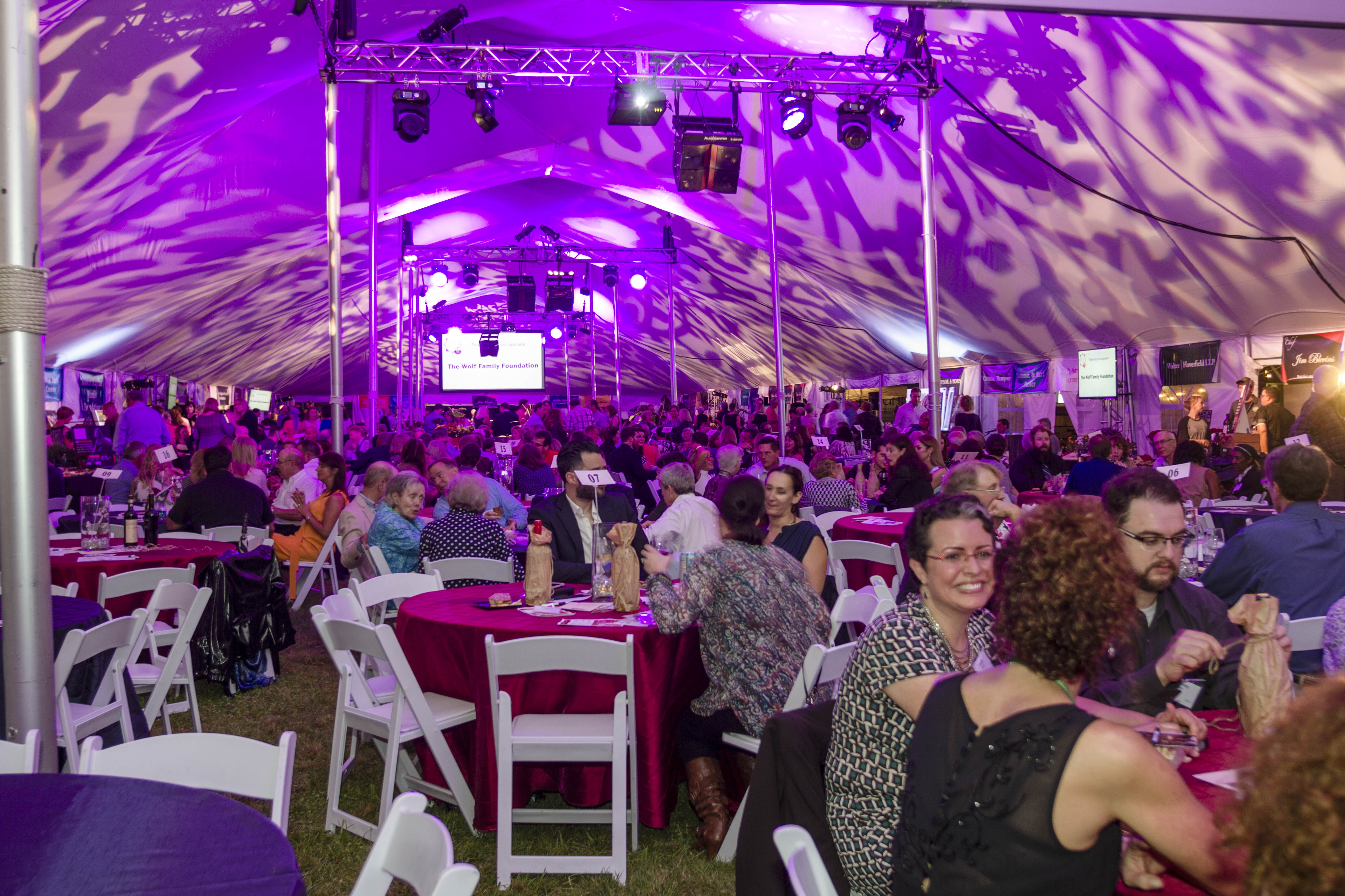 "Photographs of ""Chefs Unbridled"" fundraising event for Fieldstone Farm-09/16"