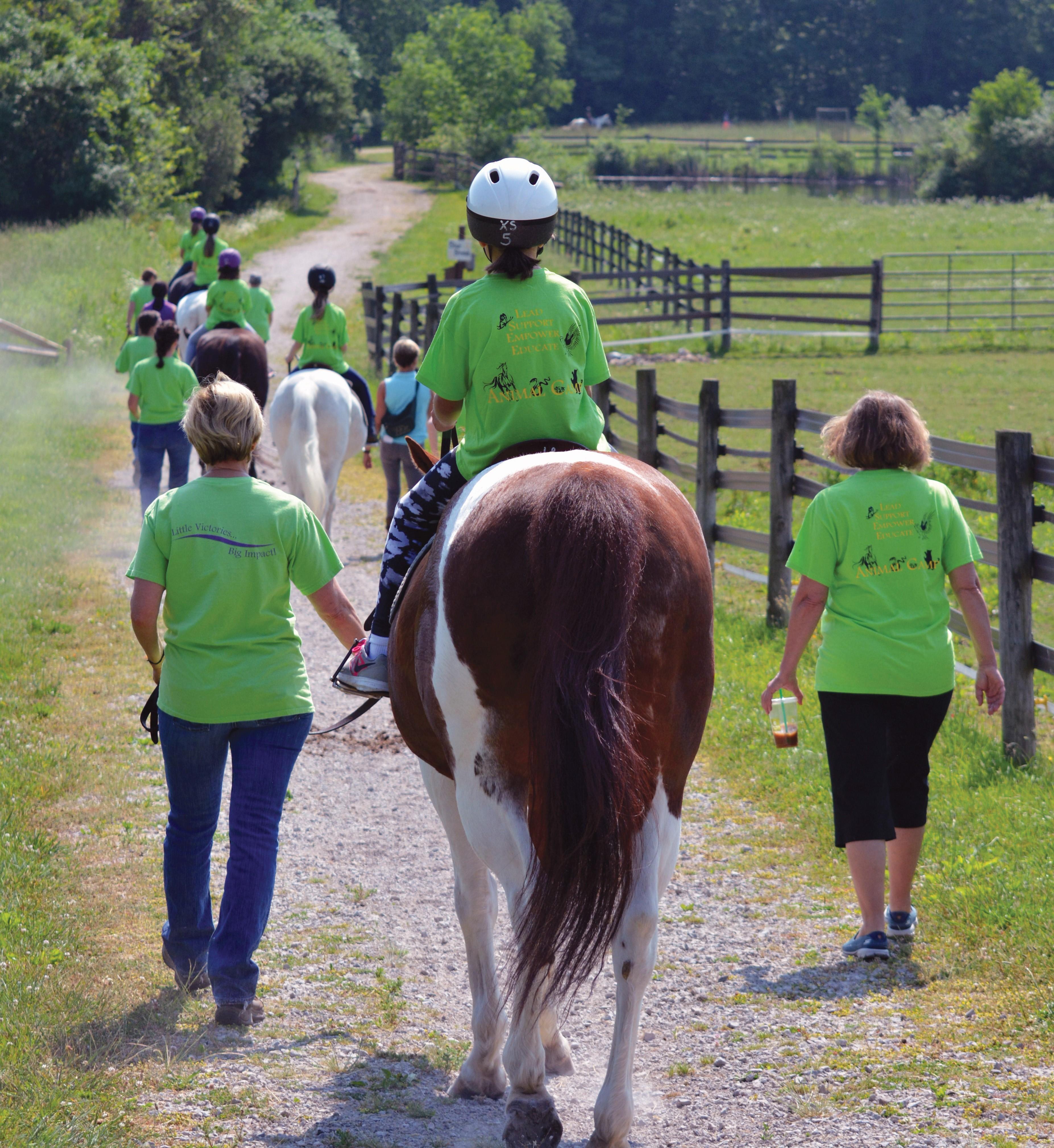 Summer Of Fun Fieldstone Farm Therapeutic Riding Center