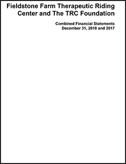 Combined Financial Report, December 31, 2018 and 2017