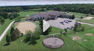 Fieldstone Farm aerial video still